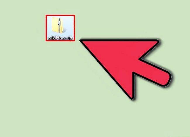 Billedbetegnelse Åbn et zip-fil Trin 1