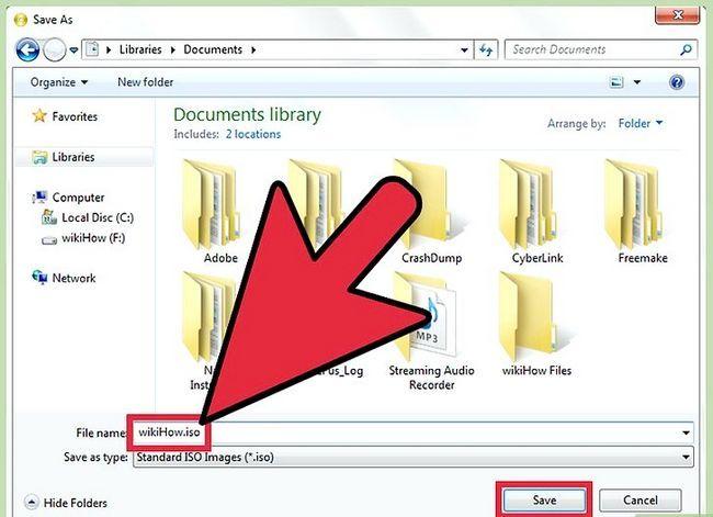 Billedbetegnelse Konverter BIN-filer ved hjælp af Power ISO Step 8