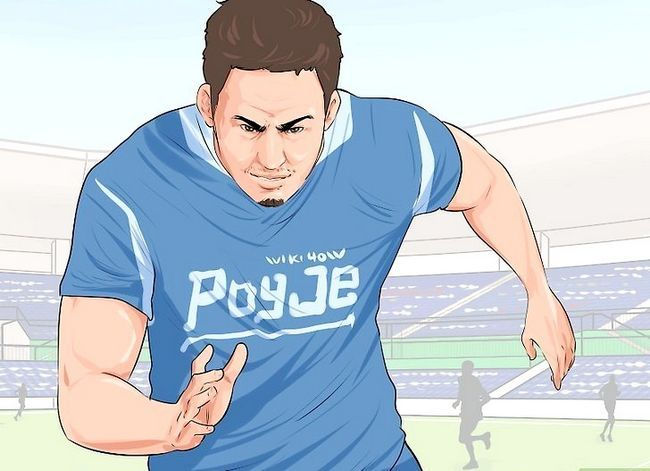 Billedbetegnelse Tackle i Rugby Trin 1