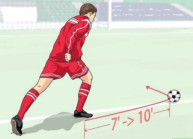 Billedbetegnelse Curve a Soccer Ball Trin 1