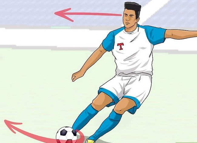 Billedbetegnelse Curve a Soccer Ball Trin 11