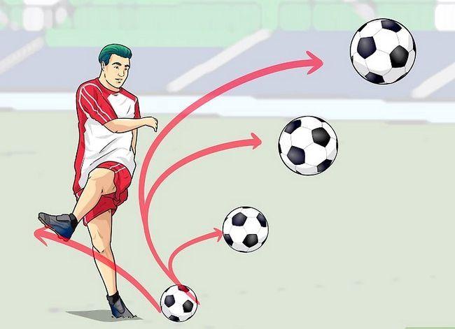 Billedbetegnelse Curve a Soccer Ball Trin 4