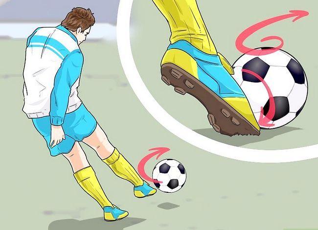 Billedbetegnelse Curve a Soccer Ball Trin 6