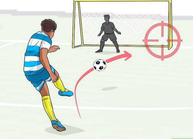 Billedbetegnelse Curve a Soccer Ball Trin 9