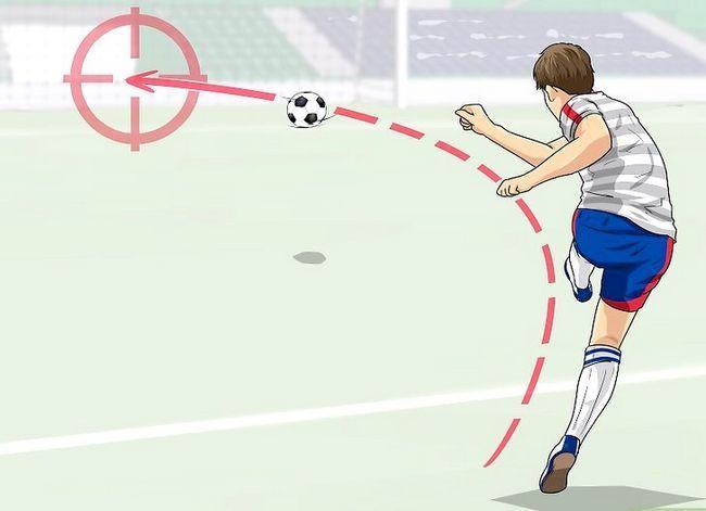 Billedbetegnelse Curve a Soccer Ball Trin 10