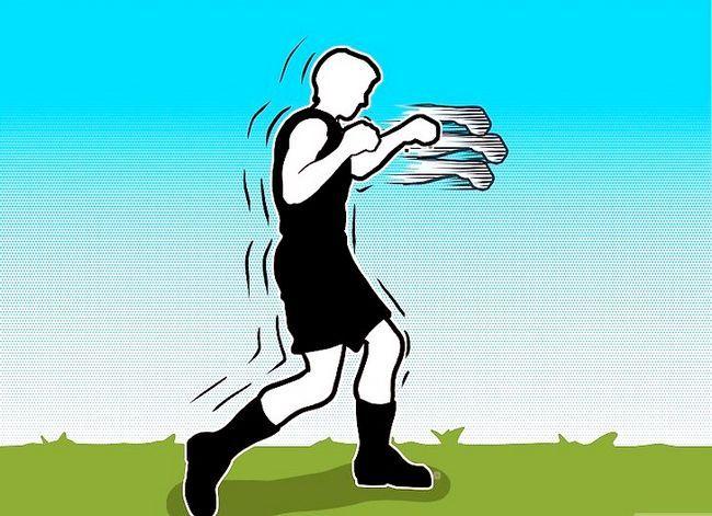 Billedbetegnelse Udvikl hastighed når boksning Trin 7
