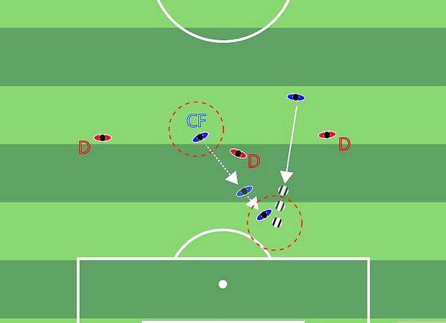 Billedbetegnelse Forstå fodboldstrategi Trin 1