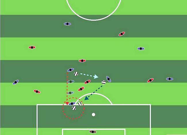 Billedbetegnelse Forstå fodboldstrategi Trin 3