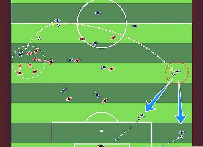 Billedbetegnelse Forstå fodboldstrategi Trin 4