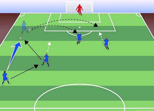 Billedbetegnelse Forstå fodboldstrategi Trin 7