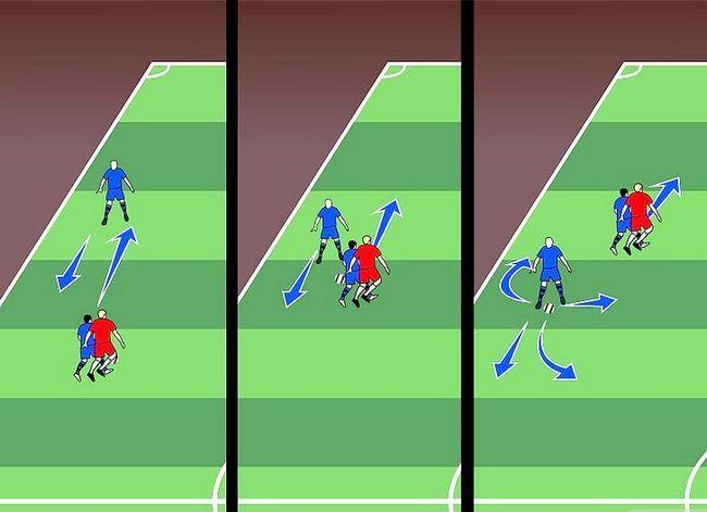 Billedbetegnelse Forstå fodboldstrategi Trin 8