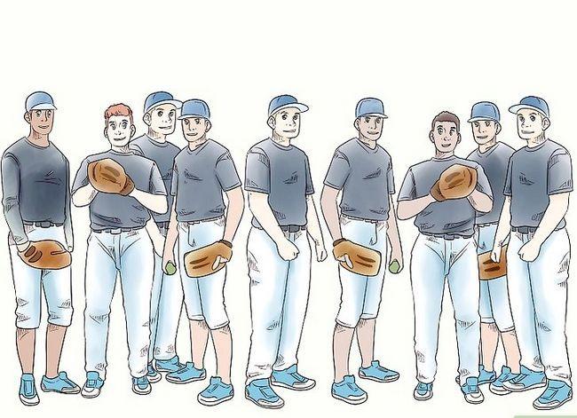 Billede med titlen Play Baseball Trin 1