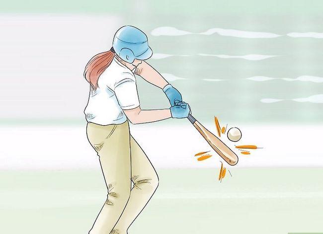 Billede med titlen Play Baseball Step 12