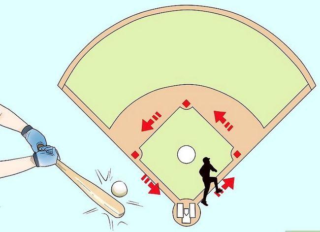 Billede med titlen Play Baseball Step 16
