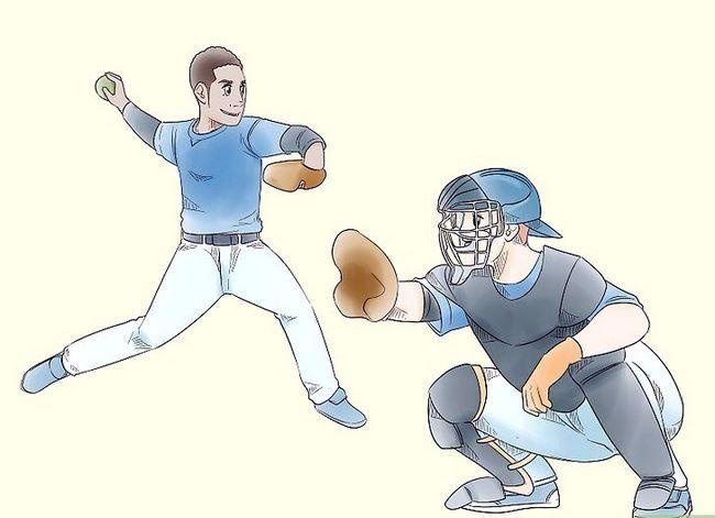 Billede med titlen Play Baseball Step 2