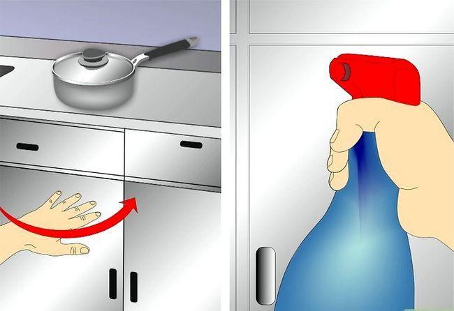Billedbetegnelse Clean Kitchen Cabinets Trin 15