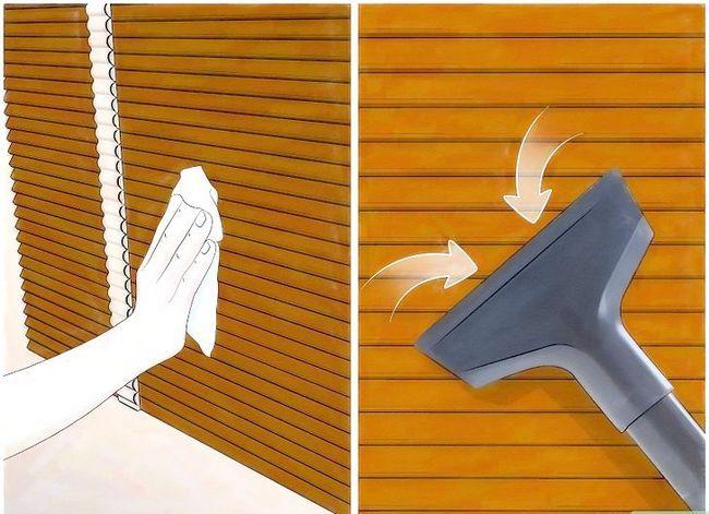 Billedbetegnelse Clean Faux Wood Blinds Trin 1