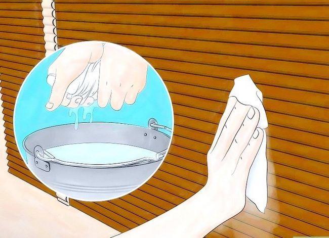 Billedbetegnelse Clean Faux Wood Blinds Trin 4