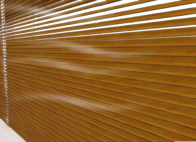 Billedbetegnelse Clean Faux Wood Blinds Trin 5