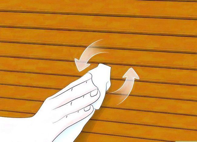 Billedbetegnelse Clean Faux Wood Blinds Trin 6
