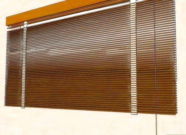 Billedbetegnelse Clean Faux Wood Blinds Trin 7