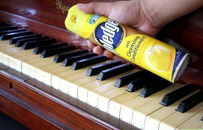 Billedbetegnelse Rengør et klaver Trin 4