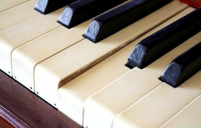 Billedbetegnelse Rengør et klaver Trin 6