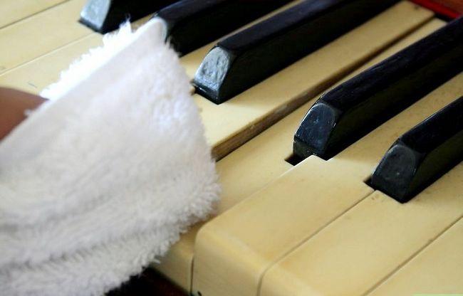 Billedbetegnelse Rengør et klaver Trin 7