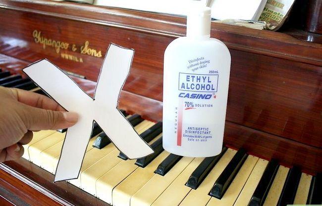 Billedbetegnelse Rengør et klaver Trin 9
