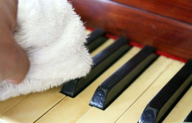 Billedbetegnelse Rengør et klaver Trin 10