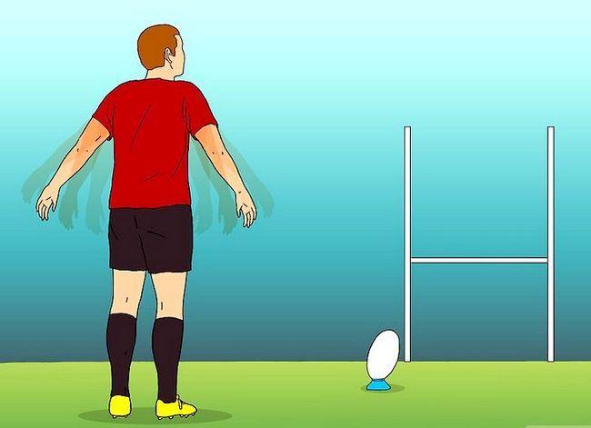 Billede med titlen Kick for Goal (Rugby) Trin 4