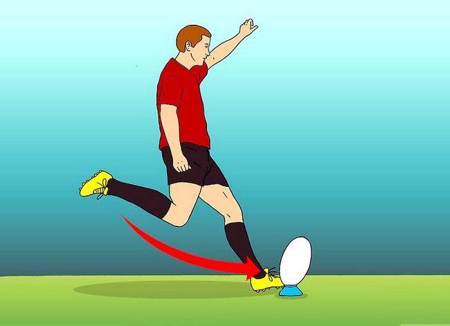Billede med titlen Kick for Goal (Rugby) Trin 6