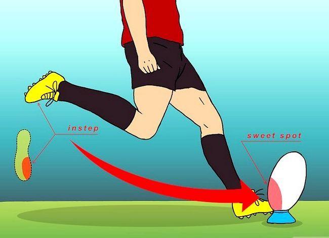 Billede med titlen Kick for Goal (Rugby) Trin 7