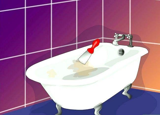 Billedets titel Maler badekaret Trin 1