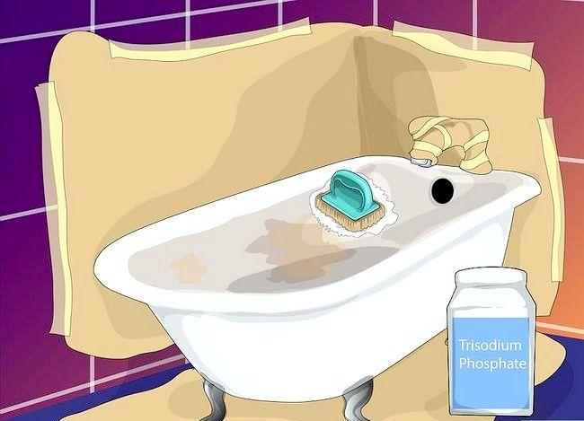 Billedbetegnelse Maler badekarret Trin 4