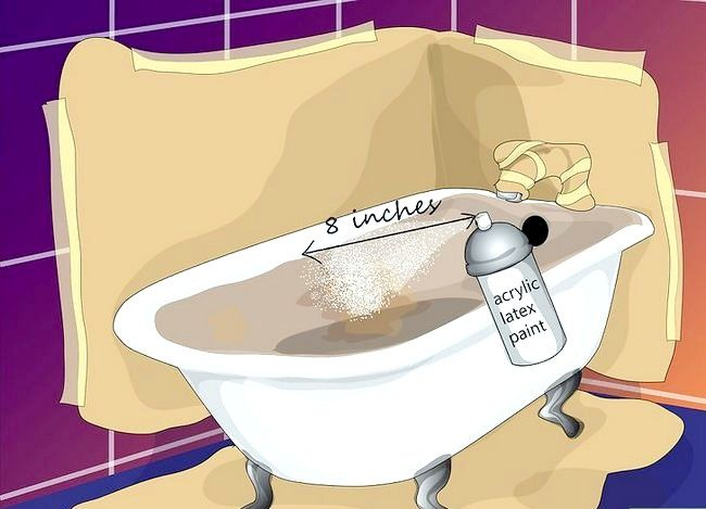 Billedbetegnelse Maler badekarret Trin 8
