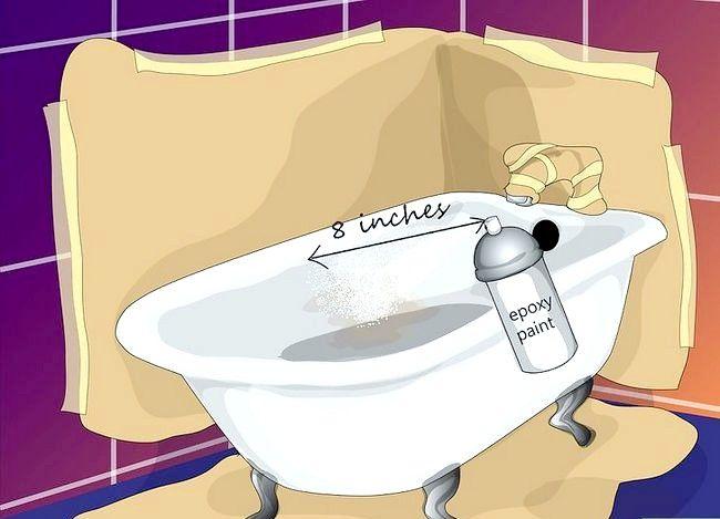 Billedbetegnelse Mal badkaret Trin 9