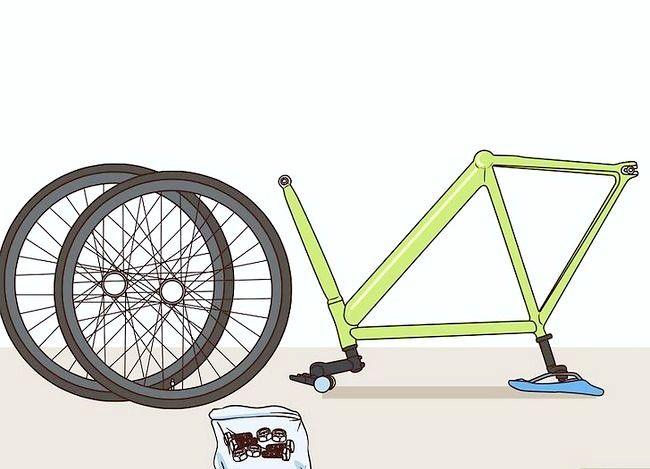 Billedbetegnelse Mal en cykel Trin 1