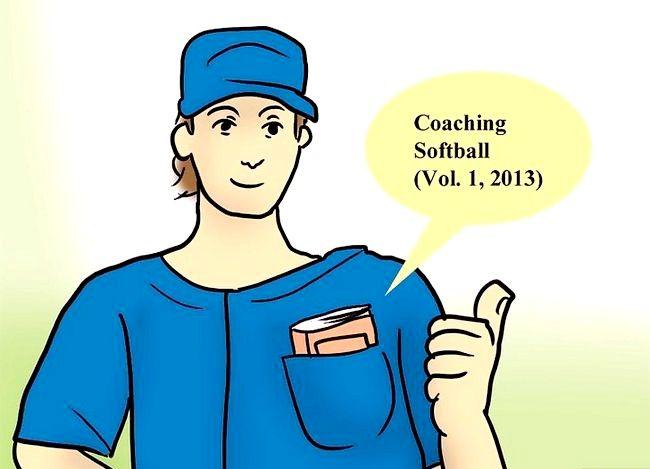 Billede med titlen Coach Softball Trin 2