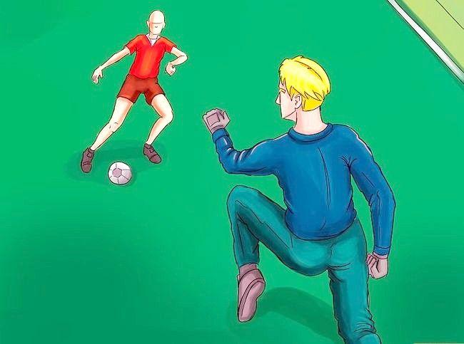 Billedets titel Vær frygtelig som fodboldmålmand Trin 2