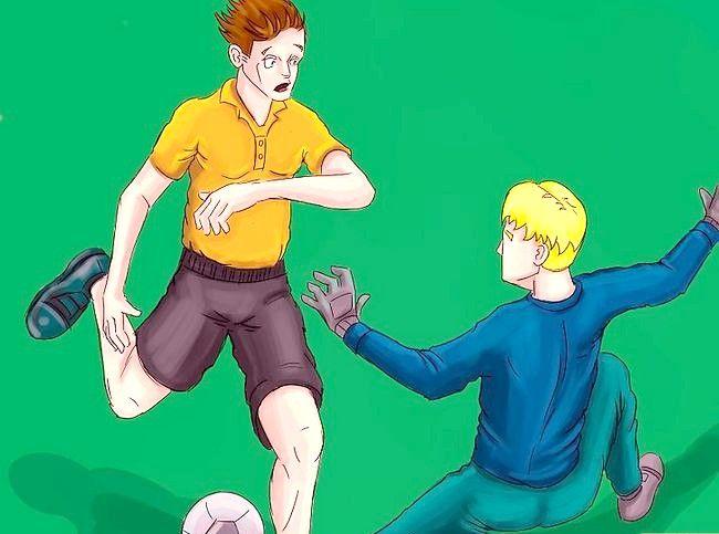 Billedets titel Vær frygtelig som fodboldmålmand Trin 3