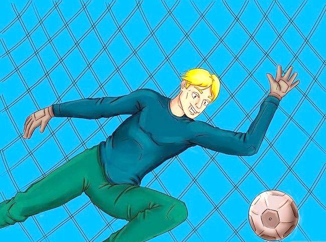 Billedets titel Vær frygtelig som fodboldmålmand Trin 4