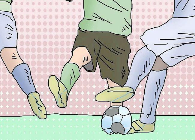 Billede med titlen Play Defender (Soccer) Trin 5