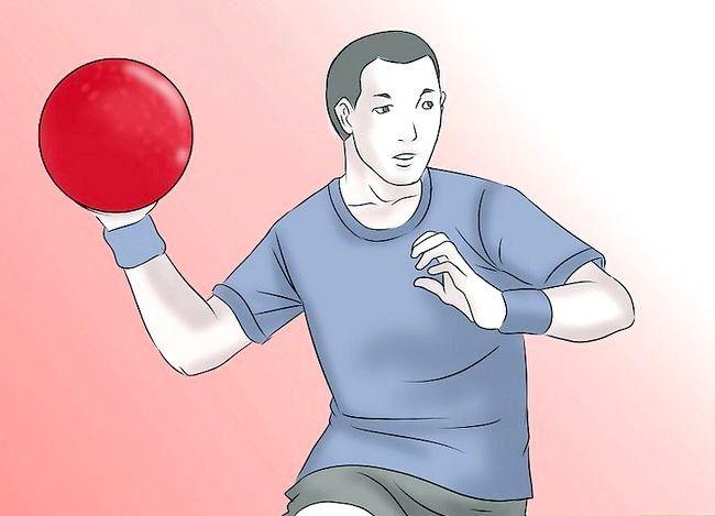 Billede med titlen Vær en fantastisk Kickball Player Trin 12