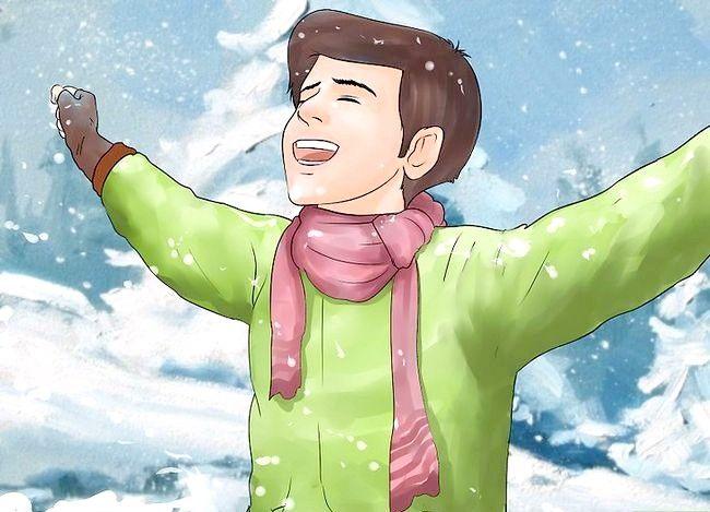 Hvordan man modstår kolde temperaturer
