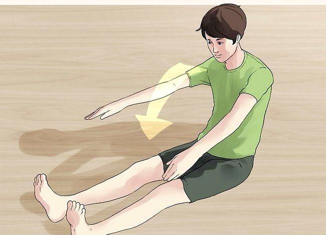 Billedbetegnelse Gør dine fødder berør hovedet Trin 2
