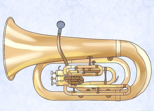 Sådan spiller du en tuba