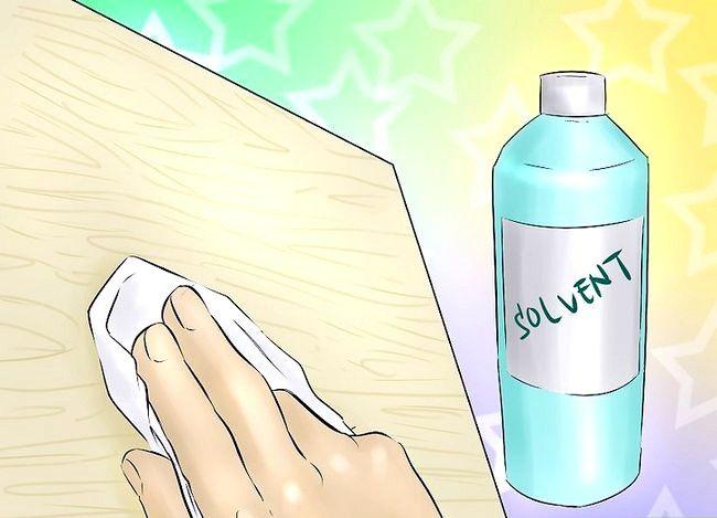 Billedbetegnelse Spray Kontakt Adhesive Trin 2