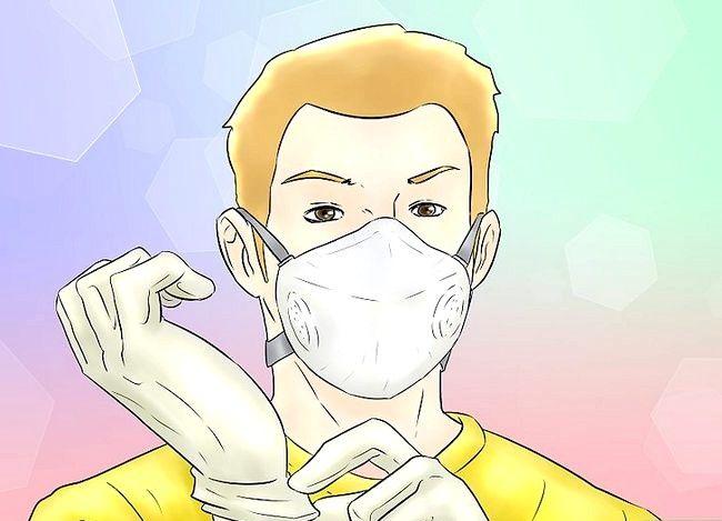 Billedbetegnelse Spray Kontakt Adhesive Trin 5