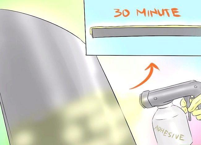 Billedbetegnelse Spray Kontakt Adhesive Trin 8